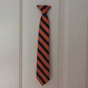 IZOD striped clip-on-tie boys